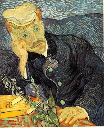 Portrait of Dr. Gachet - Vincent Van Gogh
