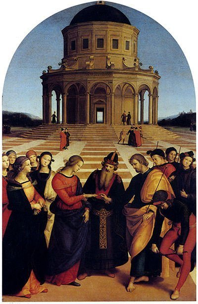 The Marriage of the Virgin (1504) - Raphael