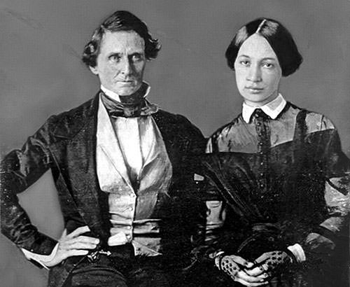 Jefferson Davis and Varina Howell