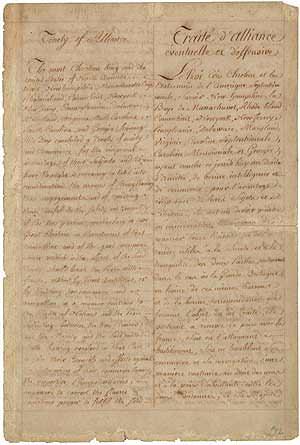 Franco-American Alliance treaty