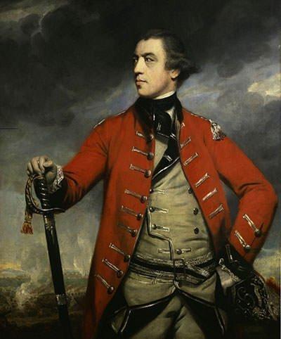 Portrait of General John Burgoyne by Sir Joshua Reynolds