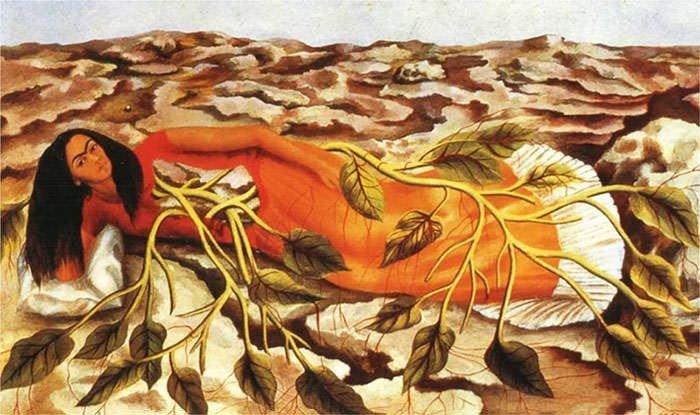 Roots (1943) - Frida Kahlo