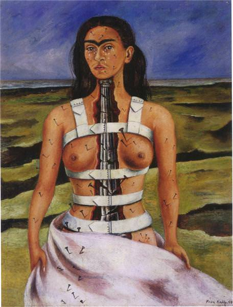 The Broken Column (1944) - Frida Kahlo