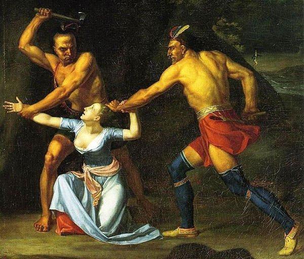 The Death of Jane McCrea by John Vanderlyn
