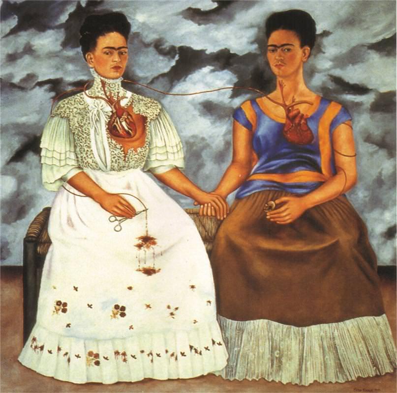 The Two Fridas (1939) - Frida Kahlo
