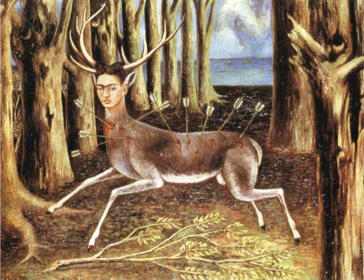 The Wounded Deer (1946) - Frida Kahlo
