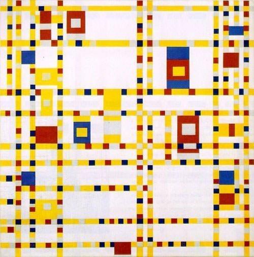 Broadway Boogie-Woogie - Piet Mondrian