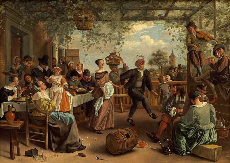 The Dancing Couple - Jan Steen