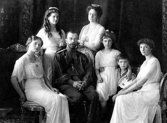 Nicholas II Family