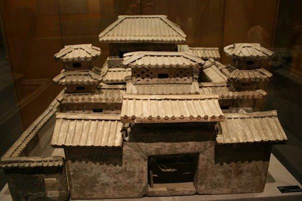 Han Dynasty palace model