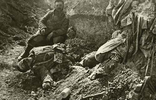 French soldier at Verdun