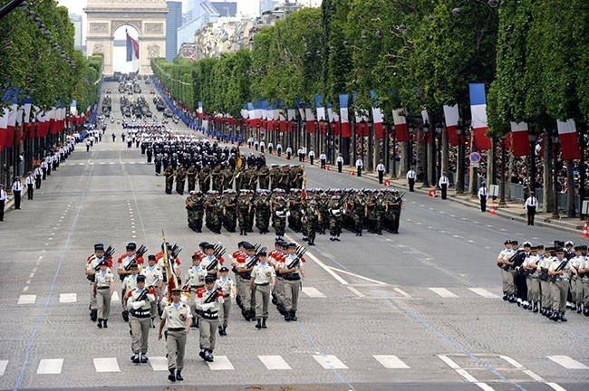 Bastille Day Military Parade 2014