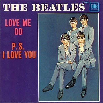 Love Me Do Cover Art