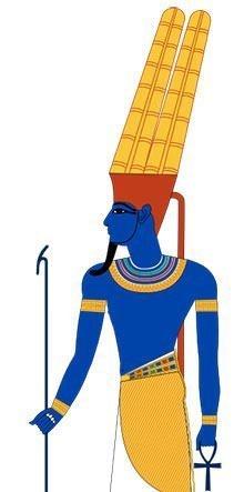 God Amun Depiction