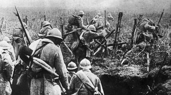 Battle of Verdun French Attack