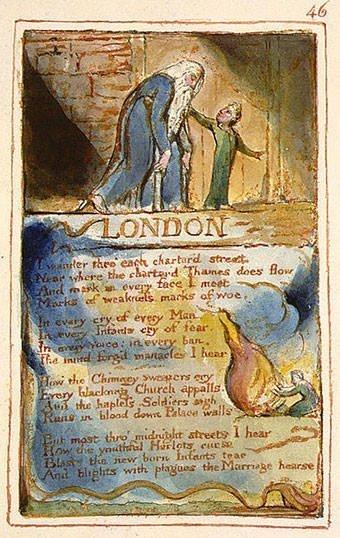 London - Poem by Blake
