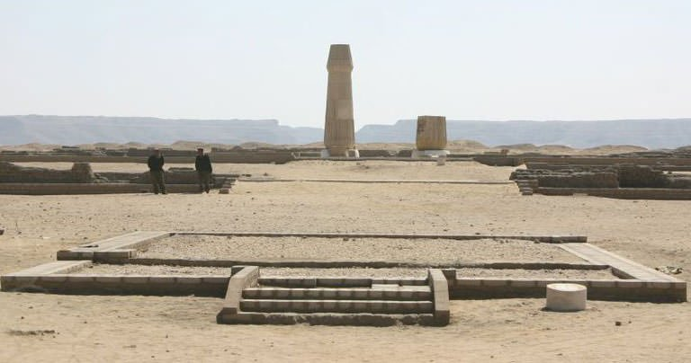 Small Temple of the Aten at Amarna
