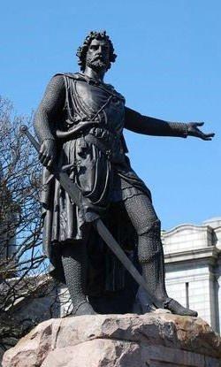 William Wallace Statue in Aberdeen