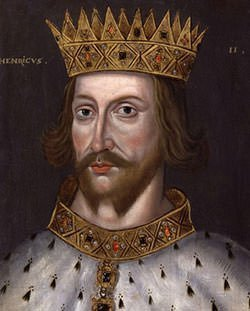 King Henry II portrait