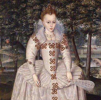 Daughter of James I - Princess Elizabeth