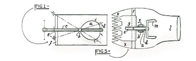 Diagram of Unaipon's shearing machine