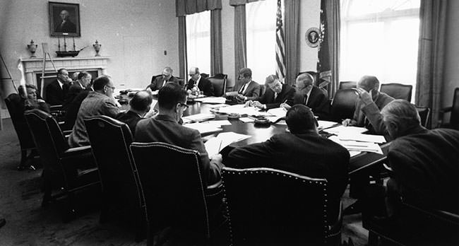 EXCOMM meeting on October 29, 1962