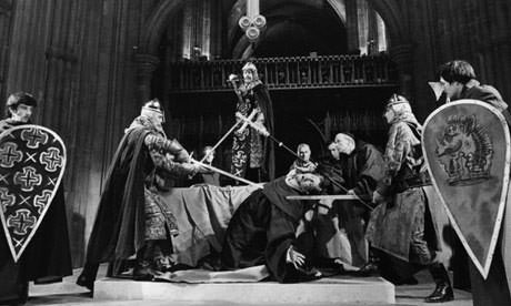 Murder in the Cathedral being performed