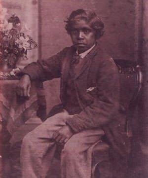 Young David Unaipon