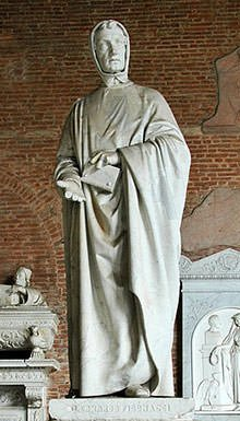 Fibonacci statue in Pisa