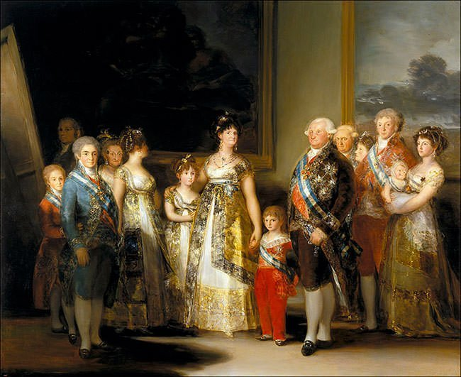 Charles IV of Spain and His Family (1801) - Francisco Goya