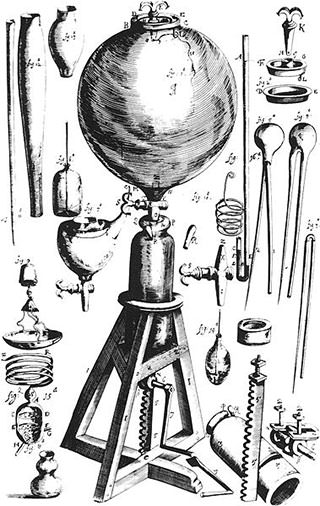 Robert Boyle's air pump