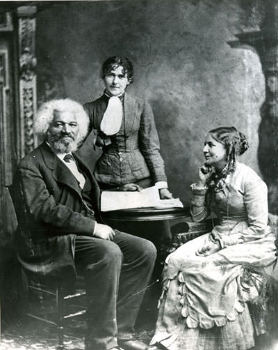 Frederick Douglass and Helen Pitts Douglass
