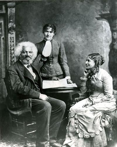 Frederick Douglass and Helen Pitts Douglass