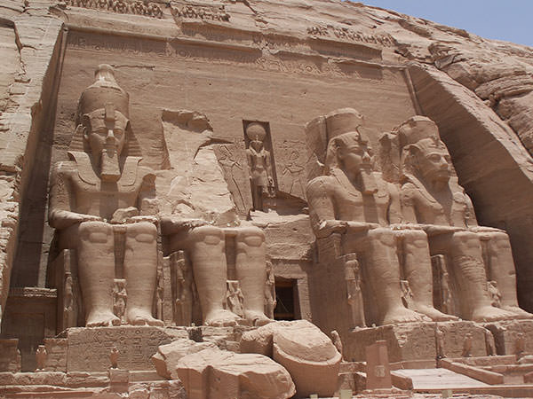 Ramses II temple at Abu Simbel