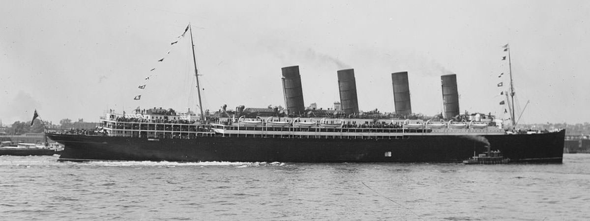 Lusitania Facts Featured