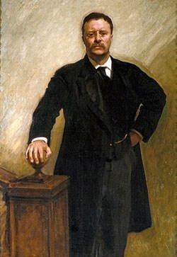Theodore Roosevelt presidential portrait