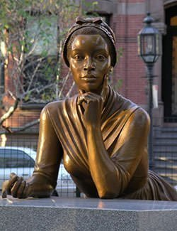Phillis Wheatley Statue at the Boston Women's Memorial