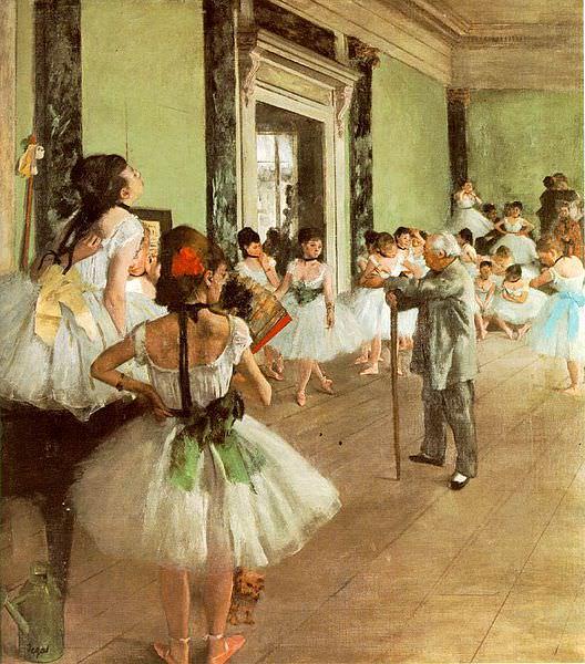 1. Degas early years