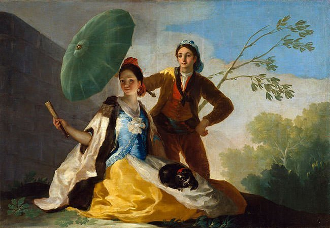 The Parasol (1777) - Francisco Goya
