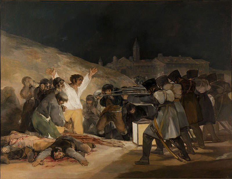 The Third of May 1808 (1814) - Francisco Goya