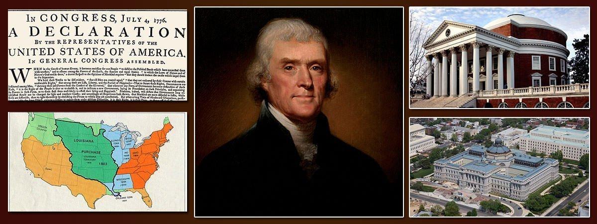 Thomas Jefferson Accomplishments Featured
