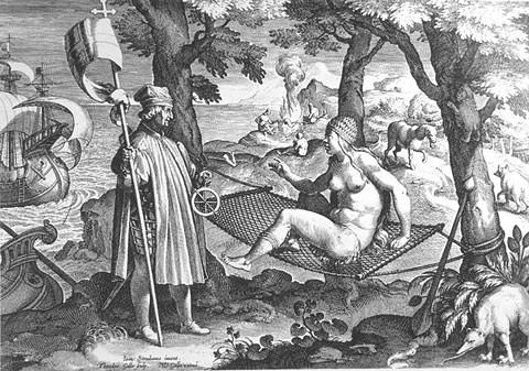 Allegory of the New World