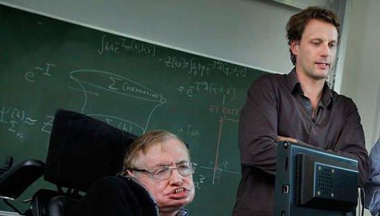 Stephen Hawking and Thomas Hertog