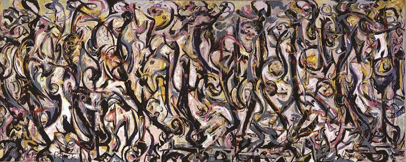 Mural, 1943 - Jackson Pollock