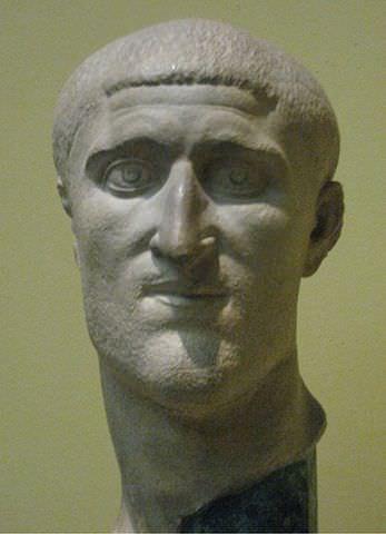 Constantius Chlorus Bust