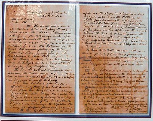 Robert Lee's Special Order 191