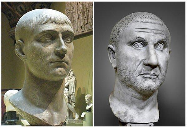 Maxentius and Licinius