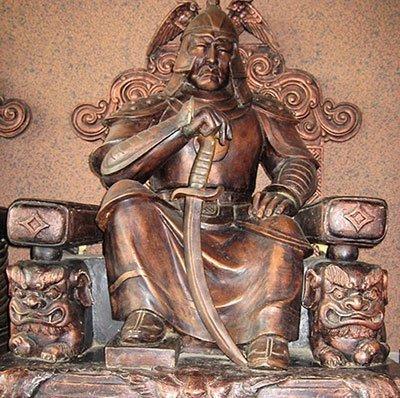 Statue of Toghon Temur