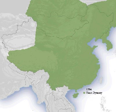 Yuan Dynasty Map (1294)