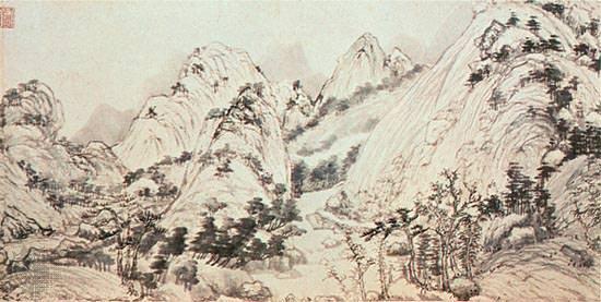 Dwelling in the Fuchun Mountains (1347-50)